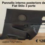 Pannello interno posteriore dx Fiat Stilo 3 porte