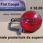 Fanale posteriore dx superiore Fiat Coupè