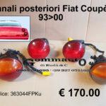 Kit Fanali posteriori Fiat Coupè 93>00