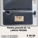 Pantina / aletta parasole dx / sx Lancia Prisma