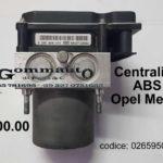 Centralina / gruppo ABS Opel Meriva 0265950475 / 0265234339 / 13212935 BOSH