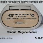 Specchietto retrovisore interno centrale abitacolo Renault Megane Scenic