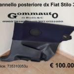 Pannello interno posteriore destro Fiat Stilo 3 porte
