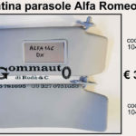 Pantina/ aletta parasole dx/sx Alfa Romeo 146    94>01