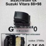 Interruttore alzacristalli anteriore dx Suzuki Vitara 88>98