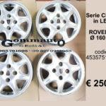 Serie cerhi in lega Rover 620  diametro 160 R15