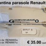 Pantina / aletta parasole dx / sx Renault 9