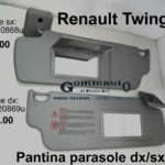 Pantina aletta parasole dx / sx Renault Twingo 93>97