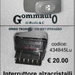 Interruttore alzacristalli per pulsantiera dx / sx  Renault Twingo 93>97