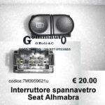 Interruttore spannavetro Seat Alhambra