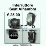 Interruttore Seat Alhambra 7M0959561C