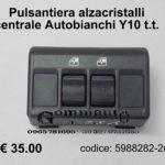 Pulsantiera centrale alzacristalli Autobianchi Y 10 t.t.