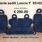 Serie sedili Lancia Y  95>02