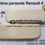 Pantina / aletta parasole dx/sx Renault 4