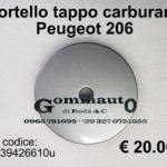 Sportello tappo carburante Peugeot 206