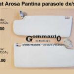 Pantina/ aletta parasole dx/sx Seat Arosa