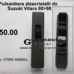 Pulsantiera alzacristalli dx Suzuki Vitara 88>98