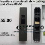 Pulsantiera alzacristalli anteriore dx corredata di cablaggio Suzuki Vitara 88>98