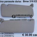 Pantina aletta parasole dx/sx Bmw 318 E 36 90>98