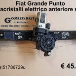 Alzacristalli elettrico anteriore sx Fiat Grande Punto 05>
