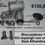 Bloccasterzo + kit imparigli con chiavi Seat Alhambra