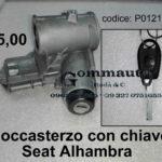Bloccasterzo con chiave Seat Alhambra