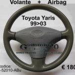 Volante + Airbag Toyota Yaris 99>03