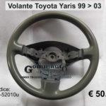 Volante Toyota Yaris 99>03