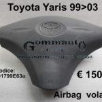 Airbag  del volante Toyota Yaris 99>03