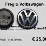 Fregio cofano posteriore Volkswagwen Ø mm 75