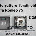 Interruttore fendinebbia Alfa Romeo 75