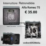 Interruttore retronebbia Alfa Romeo 75