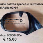 Cornice calotta specchio retrovisore esterno dx Opel Agila 00>07