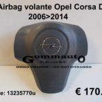 Airbag volante Opel Corsa D  06>14