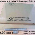 Vetro scendente anteriore dx / sx Volkswagen Polo 91>94