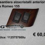 Pulsantiera alzacristalli anteriore sx Alfa Romeo 155
