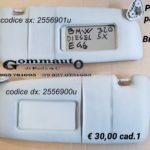 Pantina/ aletta parasole dx/ sx BMW E 46  320