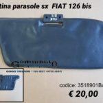 Pantina parasole sx Fiat 126 Bis