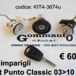 Kit Imparigli Fiat Punto Classic 03>10