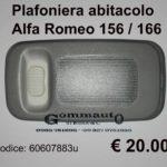 Plafoniera abitacolo Alfa Romeo 156 / 166