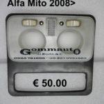 Plafoniera abitacolo con staffa Alfa Romeo Mito 2008>