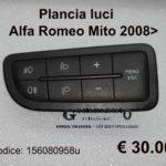 Plancia luci Alfa Romeo Mito 2008>