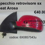 Specchio retrovisore Sx  Seat Arosa97>04