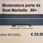 Modanatura porta dx Seat Marbella 86>