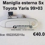 Maniglia apriporta Sx Toyota Yaris 99>03