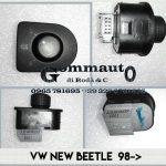 Pulsantiera regolazione specchio sx Volkswagen New Beetle 98>