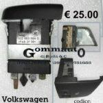 Comando regolazione riscaldamento sedile dx Volkswagen New Beetle 98>