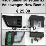 Comando regolazione riscaldamento sedile sx Volkswagen New Beetle