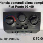 Plancia comandi clima completa Fiat Punto 93>99