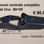 Tunnel centrale completo Fiat Uno  89>95